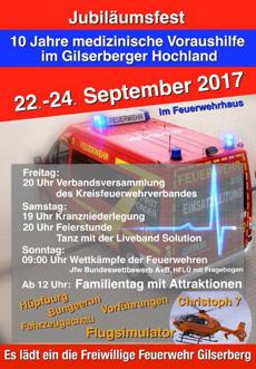Jubiläumsfeier 2017 FFW Gilserberg