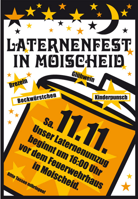 Laternenfest in Moischeid 2017